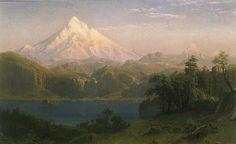 mt hood paintings | Mount Hood , 1869
