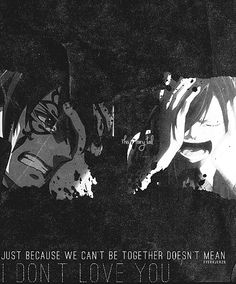 Erza x Jellal Fairy Tail Jellal, Jellal And Erza, Fairy Tail Anime, Gruvia, Fairytail, Gajevy, Fairy Tail Quotes, Fairy Tail Pictures, Fairy Tail Guild