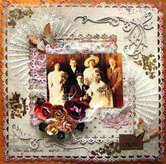 Gina's Designs: Vintage Wedding Layout