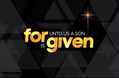 For unto us a Son is given! #Christmas #Advent #faith