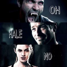 Haha!! I always glare at my friend when he says Oh Hell No instead of OH HALE NO!