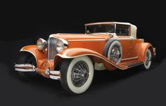 1930 Cord L-29 Cabriolet Collection of the Auburn Cord Duesenberg Automobile Museum, Auburn, IN
