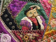 1000+ images about Quilting - Crazy on Pinterest | Crazy quilting ...