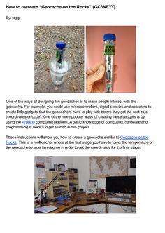 3 Amazing DIY Geocache Hides Revealed #Geocaching #Blog