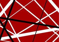 Franken Strat Stripes