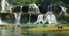 Ban Gioc waterfall – Cao BangVietnam