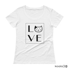 Cat Lovers, Cat T shirt, LOVE CAT, Women's Cat Tee, Ladies' Cat T shirt