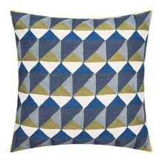 Discover the Niki Jones Escher Pillow - 50x50cm - Slate