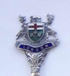 Collector Souvenir Spoon Canada Ontario London Coat of Arms