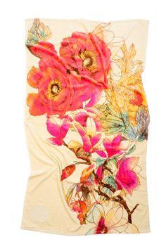 Natori Bloom Beach Towel