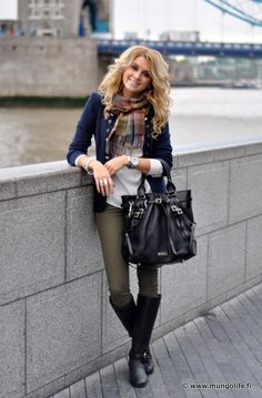 i love everything about this outfit, i love this blog too if you can get over that most is not in english