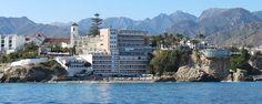 Hotel Balcon de Europa desde el mar