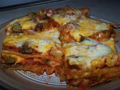 Dutch Oven Madness!: Day 305: Vegetable Lasagna