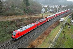 147 005 DB AG 147 at Singen (Hohentwiel), Germany by Richard Behrbohm