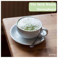 Yummy matcha lattes at the Milk House :)