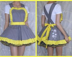 My Little Pony Derpy Hooves Pinafore Apron Costume Skirt Adult ALL Sizes - MTCoffinz