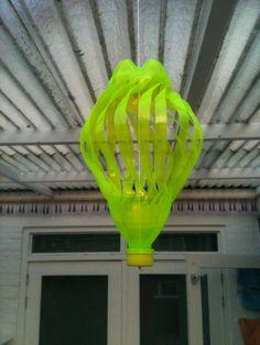 windmolen uit plastic fles