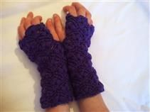 Discover Me : Merry Golightly : Purple Kids/Teenage Gloves