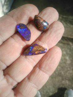 Small Boulder Opal Pieces