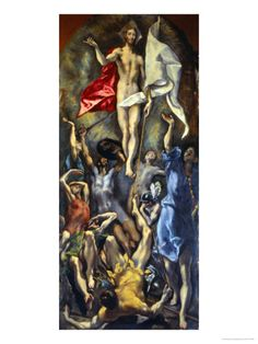 Resurrection Giclee Print by El Greco at Art.com