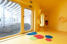 childcare facility in boulay, france designed by paul le quernec | playful mats