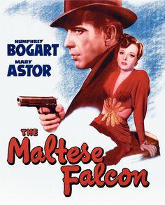 The Maltese Falcon 27x40 Movie Poster (1941)