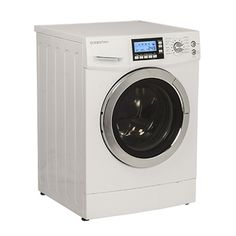 Equator White 2 In 1 Compact 14 Programs Combination Washer And Dryer With  Optional Condensing/ Venting And 1000 RPM Spin Speed. Tiny House ...