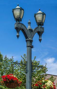 VISCO, Inc. City of Everett, Washington VISCO cast iron street ligting pole and decorative light fixtures. Agent:  Lighting Group Northwest, Seattle, WA