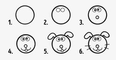 Circles to the rescue: ten simple ways to make drawing with kids fun and easy How To Make Drawing, Drawing For Kids, Drawing S, Art For Kids, Small Drawings, Easy Drawings, Colegio Ideas, Pick Up Lines Funny, Gambling Quotes