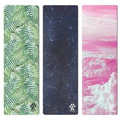 Yogi-Bare® luxuriösen Studio Yoga mit Microfaser Frottee für hot Yoga-Matte / reisen / maschinenwaschbar / grip, die passt sich an Ihre Praxis   UMWELTFREUNDLICH - biologisch abbaubar Naturholz Gummi- und Druckfarben auf Wasserbasis