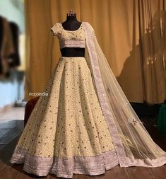 Long Choli Lehenga, Lehnga Dress, Pink Bridal Lehenga, Designer Bridal Lehenga, Best Friend Bday Gifts, Indian Outfits, Indian Clothes, Achkan, Crystal Embroidery