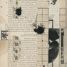 Janet Jones Collage, Mixed Media and Book Art | Notations