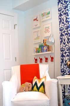 6th Street Design School   Kirsten Krason Interiors : E-Design Nursery Before and After