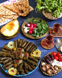Dolma(Dolmeh) is a family of stuffed dishes common in the Mediterranean cu… Iranian Dishes, Iranian Cuisine, Afghan Food Recipes, Iran Food, Middle Eastern Recipes, Arabic Food, Food Design, Food Presentation, Food Photography