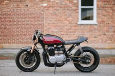 Honda CB550 Cafe Racer by Cognito Moto ~ Return of the Cafe Racers