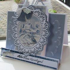 Marianne Design, Album, Big Shot, Folded Cards, Mini, Christmas Cards, Decorative Boxes, Card Making, Bridge
