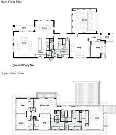 Modern Home Plans On Pinterest Home Building Plans