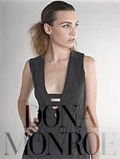 Dona Monroe Sleeveless Jacket Dress