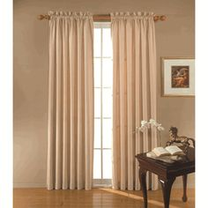 Blackout Curtains - Clark Eclipse Thermaback Insulated Curtain Panel