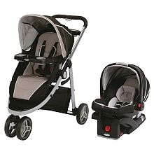 Graco Modes Sport Travel System with SnugRide Click Connect 35 Infant Car Seat - Cedar