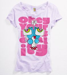 """""""Obey your personality"""" t-Shirt from the Shroom T-Shirts collection made by Igor Wnuk"""