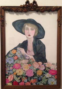 Illuminating the Stars: Lilian Gish by Alicia Justus. SOLD. #goldenera #oldhollywood #liliangish