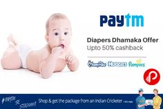 #Paytm #offers Flat 50% #Cashback on #Diapers Best Brands #Libero, #MamyPoko, #Pampers. PBI Tip – Try Libero brand, its giving flat 50% cashback. Libero 50% Coupon Code – LBRO50 30% Coupon Code – 30DIA http://www.paisebachaoindia.com/get-upto-50-cashback-on-diapers-best-brands-paytm/