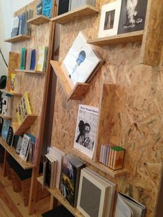 Great book display // THEOPHILE'S PAPERS