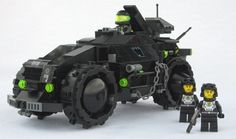Neo Blacktron - Fox - Scout Car: A LEGO® creation by Matthias Riedel : MOCpages.com
