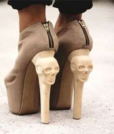 LOVE weird heel decor - Find 150+ Top Online Shoe Stores via http://AmericasMall.com/categories/shoes.html