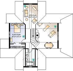 Second Floor of Plan ID: 6807