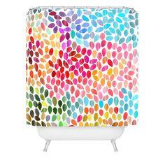 product image for DENY Designs Garima Dhawan Rain 6 Shower Curtain