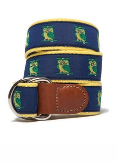 What a whimsical men's belt...girls can carry it off too!