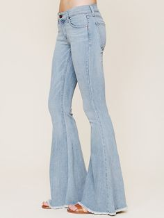 Free People Denim Super Flare at Free People Clothing Boutique
